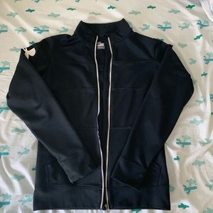 Black UA zip up